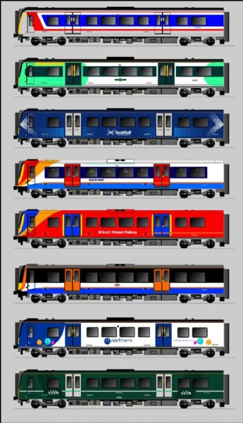 Class 350 / 450 EMU - Fictitious Liveries - N